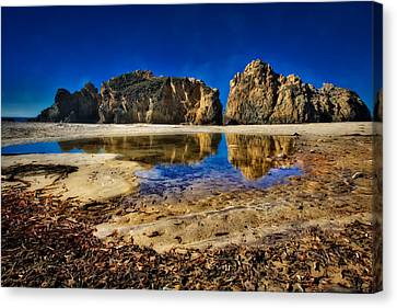 Canvas Print featuring the photograph Pheiffer Beach #15 - Big Sur, Ca by Jennifer Rondinelli Reilly - Fine Art Photography