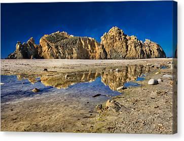 Pheiffer Beach #3 - Big Sur California Canvas Print by Jennifer Rondinelli Reilly - Fine Art Photography