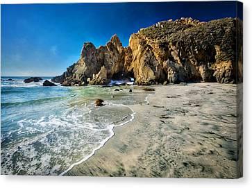 Pheiffer Beach #5 - Big Sur California Canvas Print by Jennifer Rondinelli Reilly - Fine Art Photography