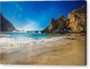 Pheiffer Beach #7 - Big Sur California Canvas Print by Jennifer Rondinelli Reilly - Fine Art Photography