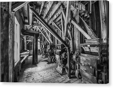 Phelps Mill Canvas Print by Paul Freidlund