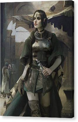 Elves Canvas Print - Phial by Eve Ventrue