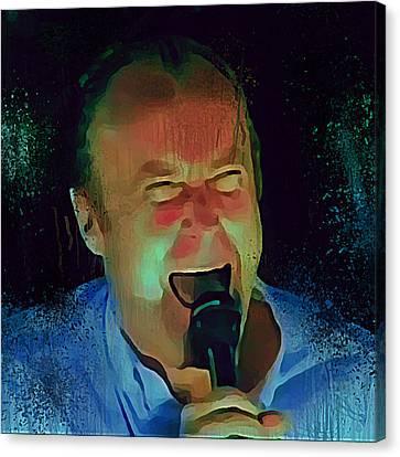 Phil Collins Ha Ha Ha Canvas Print