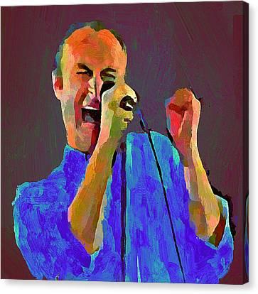 Phil Collins Tonight Tonight Canvas Print