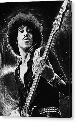 Phil Lynott Canvas Print by Taylan Apukovska