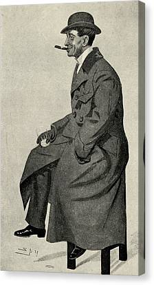 Phil May 1864 1903 English Caricaturist Canvas Print