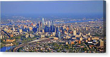 Philadelphia Aerial  Canvas Print