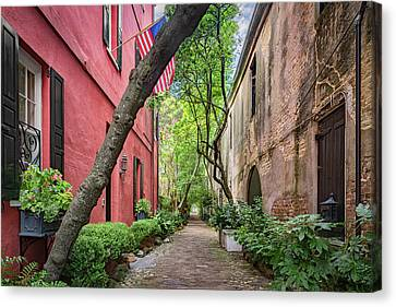 Philadelphia Alley  Canvas Print by Drew Castelhano