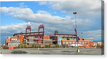 Philadelphia Baseball - Citizens Bank Park Canvas Print by Bill Cannon
