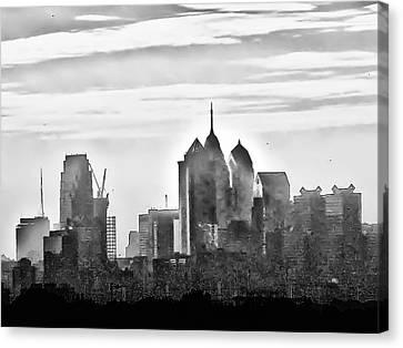 Philadelphia Canvas Print by Bill Cannon