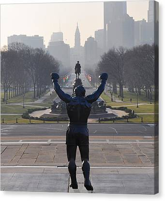 Philadelphia Champion - Rocky Canvas Print