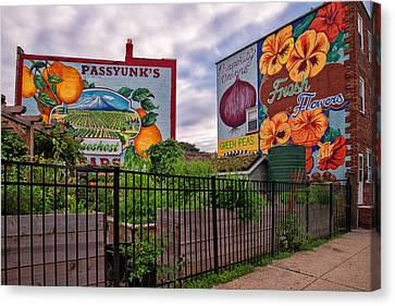 Philadelphia Community Gardens Canvas Print