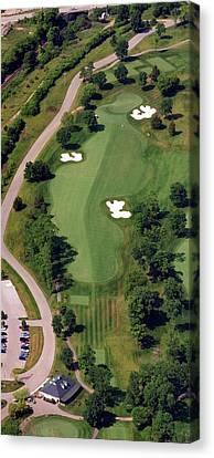 Philadelphia Cricket Club Militia Hill Golf Course 10th Hole Canvas Print by Duncan Pearson