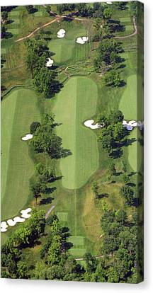 Canvas Print featuring the photograph Philadelphia Cricket Club Militia Hill Golf Course 14th Hole by Duncan Pearson