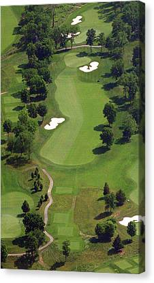Canvas Print featuring the photograph Philadelphia Cricket Club Militia Hill Golf Course 16th Hole 2 by Duncan Pearson
