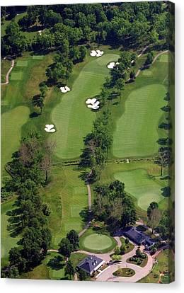 Philadelphia Cricket Club Militia Hill Golf Course 1st Hole Canvas Print by Duncan Pearson
