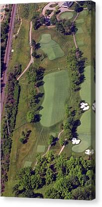 Philadelphia Cricket Club Militia Hill Golf Course 2nd Hole Canvas Print by Duncan Pearson