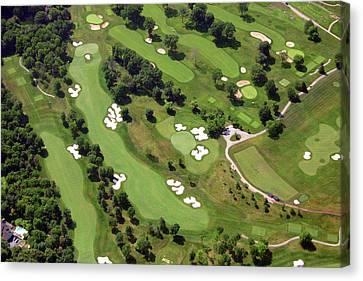 Philadelphia Cricket Club Militia Hill Golf Course 6th Hole 2 Canvas Print by Duncan Pearson