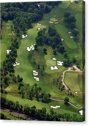 Philadelphia Cricket Club Militia Hill Golf Course 6th Hole Canvas Print by Duncan Pearson