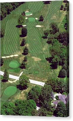 Philadelphia Cricket Club St Martins Golf Course 7th Hole 415 W Willow Grove Ave Phila Pa 19118 Canvas Print by Duncan Pearson