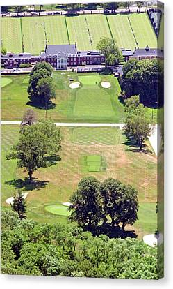 Philadelphia Cricket Club Canvas Print - Philadelphia Cricket Club St Martins Golf Course 9th Hole 415 W Willow Grove Ave Phila Pa 19118 by Duncan Pearson