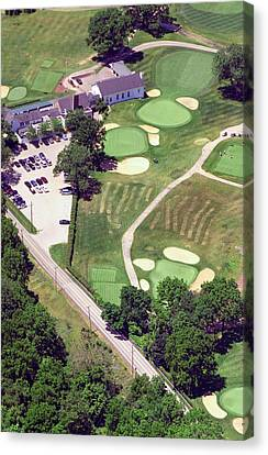 Philadelphia Cricket Club Wissahickon Golf Course 10th Hole Canvas Print by Duncan Pearson