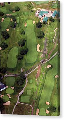Philadelphia Cricket Club Wissahickon Golf Course 11th Hole Canvas Print by Duncan Pearson