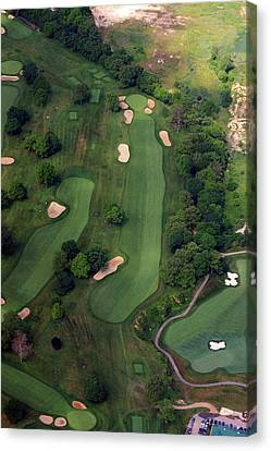 Philadelphia Cricket Club Wissahickon Golf Course 12th Hole Canvas Print by Duncan Pearson