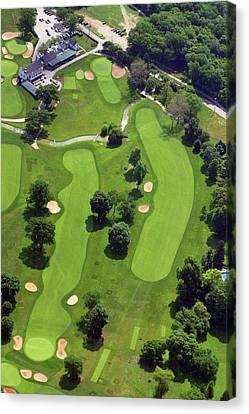 Philadelphia Cricket Club Wissahickon Golf Course 18th Hole Canvas Print by Duncan Pearson