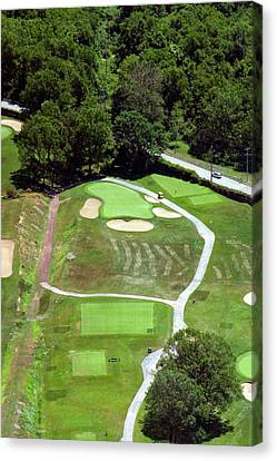 Philadelphia Cricket Club Wissahickon Golf Course 3rd Hole Canvas Print by Duncan Pearson