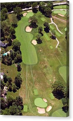 Philadelphia Cricket Club Wissahickon Golf Course 6th Hole Canvas Print by Duncan Pearson