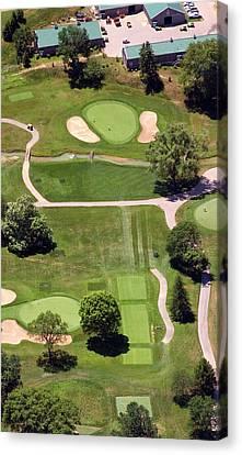 Philadelphia Cricket Club Wissahickon Golf Course 8th Hole Canvas Print by Duncan Pearson