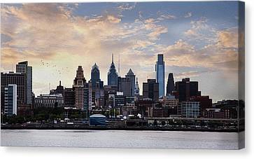 Philadelphia Canvas Print by John Rivera