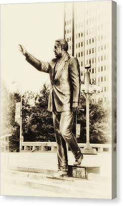 Philadelphia Mayor - Frank Rizzo Canvas Print by Bill Cannon