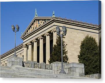 Philadelphia Museum Of Art Canvas Print