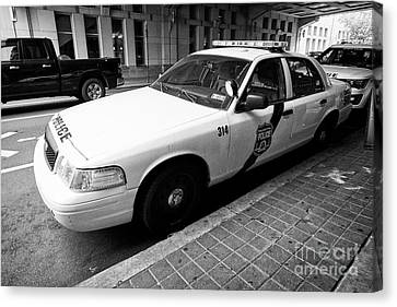 Philadelphia Police Ford Crown Vic Cruiser Patrol Car Vehicle Usa Canvas Print