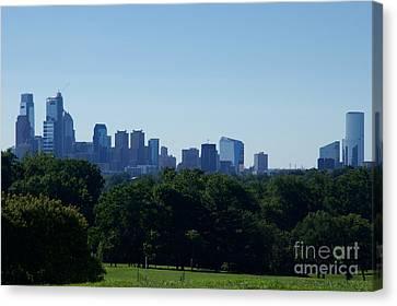 Philadelphia Skyline Of Champions Canvas Print