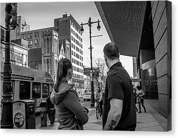 Philadelphia Street Photography - Dsc00248 Canvas Print