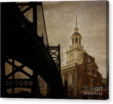 Philadelphia Canvas Print by Tom Gari Gallery-Three-Photography