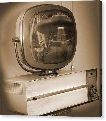 Philco Television  Canvas Print by Mike McGlothlen