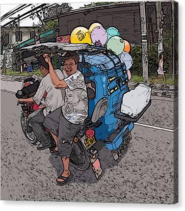 Philippines 2762 Party Supplies Canvas Print by Rolf Bertram