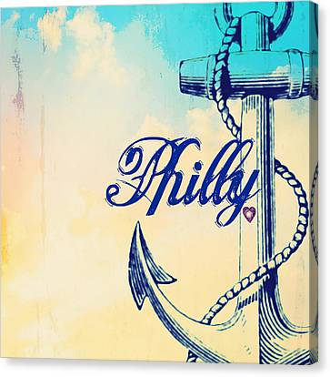 Philly Anchor 1 Canvas Print