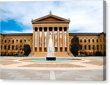 Philly Art Canvas Print by Greg Fortier