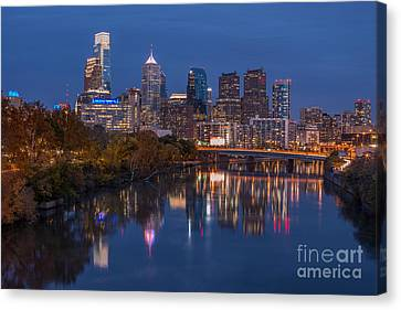 Philly Night Canvas Print