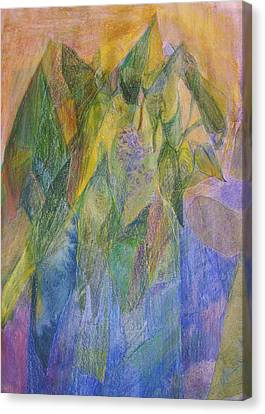 Philodendron Phun Canvas Print by Jan Cline-Zimmerman