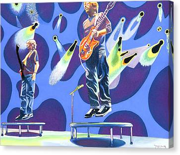 Gordon Canvas Print - Phish Tramps by Joshua Morton