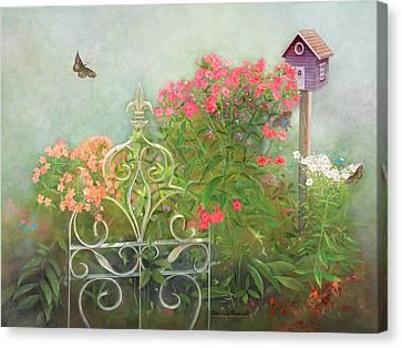 Phlox Of Late Summer Canvas Print