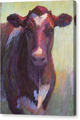 Phoebe Of Merry Mead Farm Canvas Print by Susan Williamson