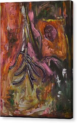 Phoenix Canvas Print by Carmen Kolcsar