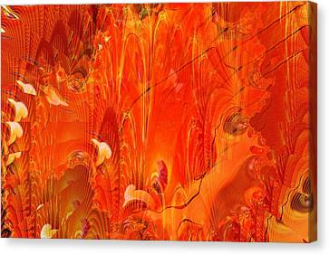 Phoenix Canvas Print by Don  Wright